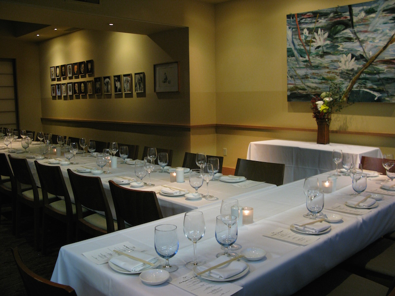 Private Events at Yoshis: Enkai Room